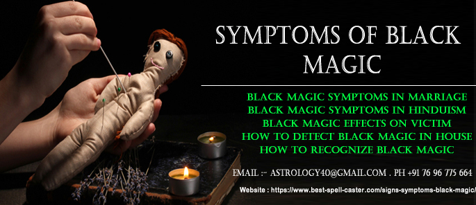 Symptoms of Black magic